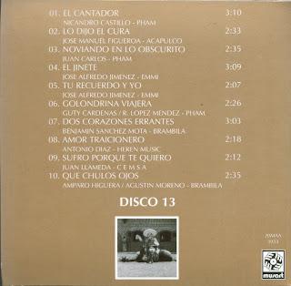Antonio Aguilar - Mi Historia Disco 13