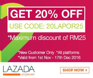 Lazada voucher code online revolution