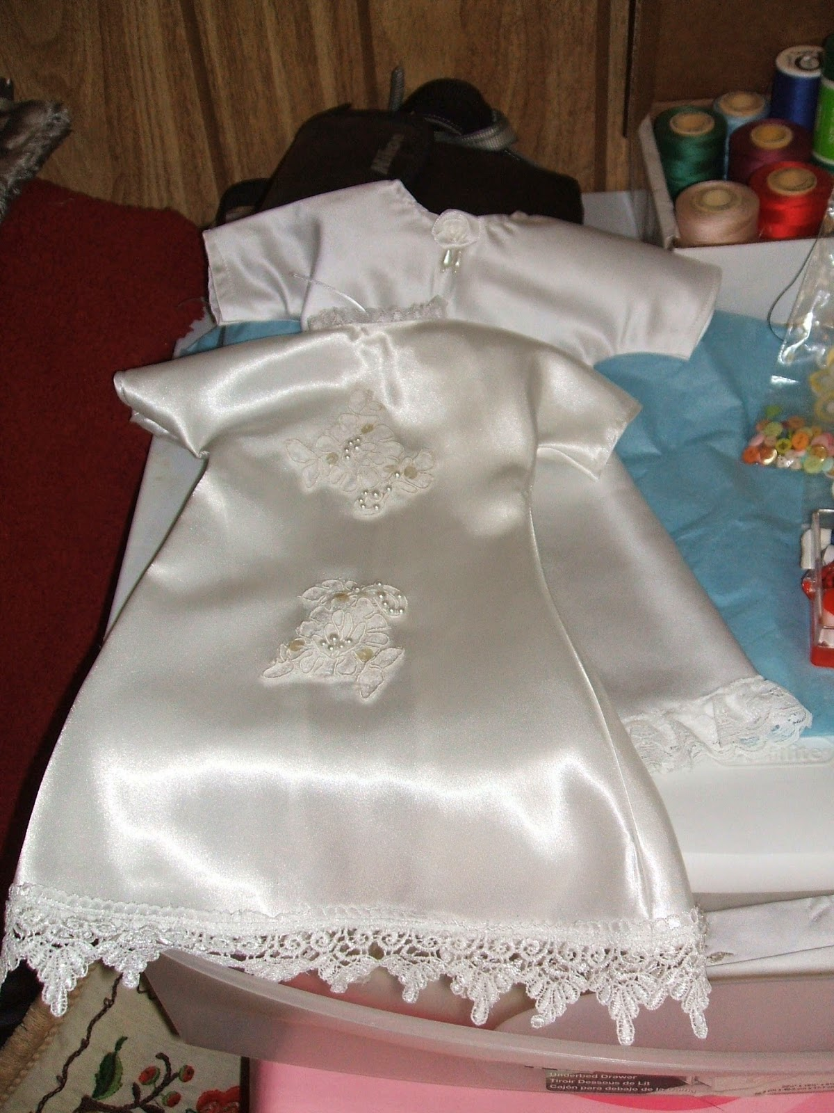 The Condolence Note Coach Angels Above Baby Gowns