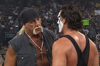 WCW Halloween Havoc 1998 - Hulk Hogan lay down for Sting in their non-match