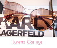 lunette cat eye karl lagerfeld
