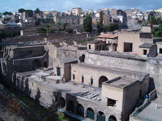The Roman city of Herculaneum is very well preserved