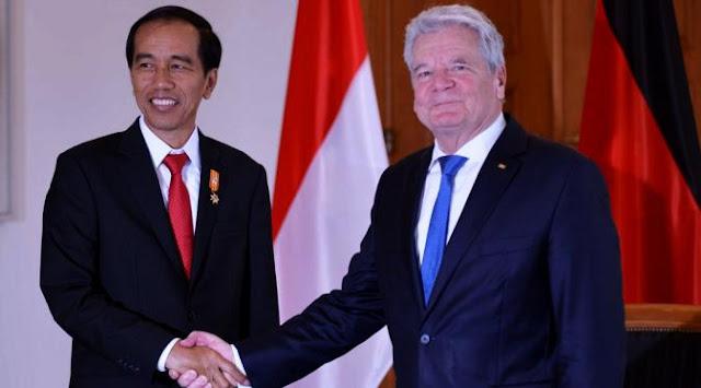 Bertemu Presiden Jerman, Jokowi Bahas Hukuman Mati