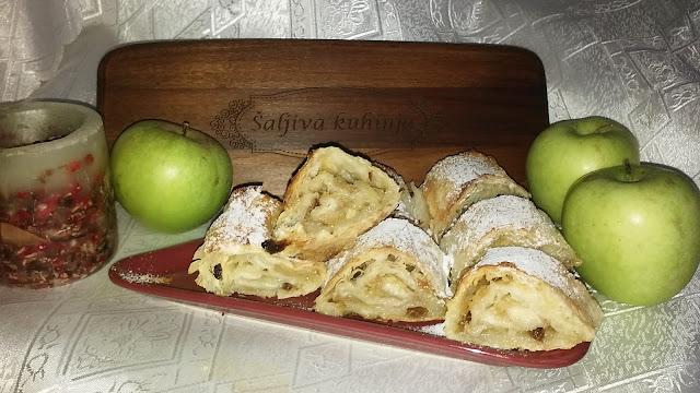 Posna pita sa jabukama