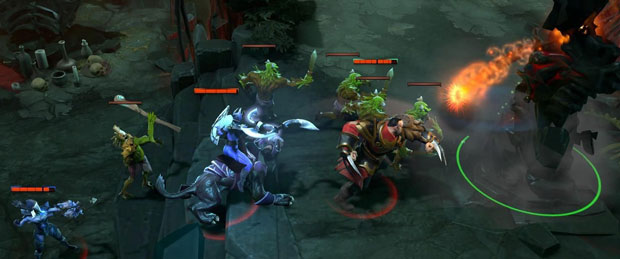 Dota 2 Phases of Game