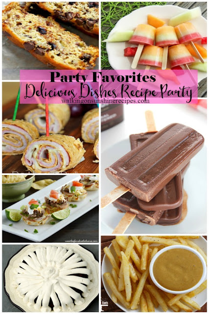 Here are the party favorites from our Delicious Dishes Recipe Party last week on Walking on Sunshine Recipes