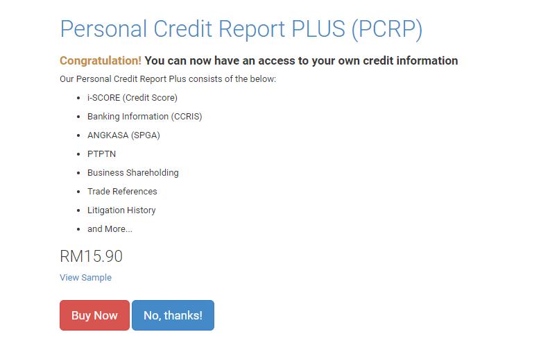 Cara Semak Laporan CCRIS Dengan Mudah Secara Online
