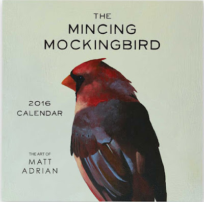 2016 Calendar - The Mincing Mockingbird