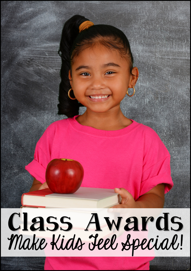 Student Awards 2011: Corkboard Connections: Classroom Awards Make Kids Feel