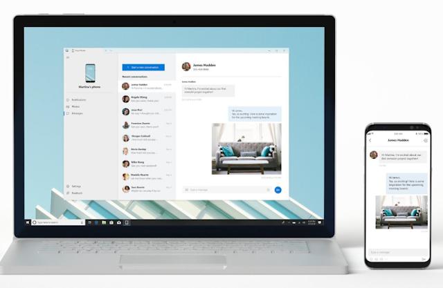 مايكروسوفت تعلن عن ميزات جديدة لتطبيق هاتفك
