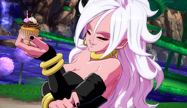Dragon ball Android 21 vore