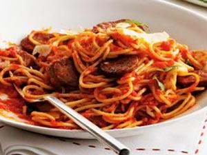 cara membuat chiken spaghetti