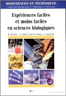 Expériences faciles et moins faciles en sciences biologiques PDF