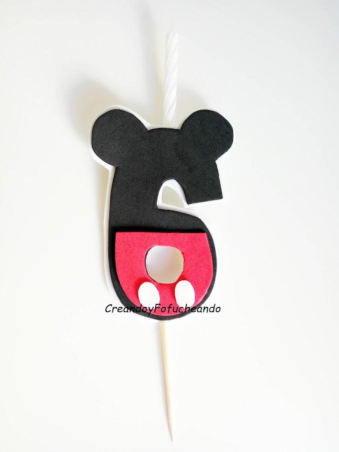 vela-de-mickey-mouse-para-cumpleaños-en-goma-eva
