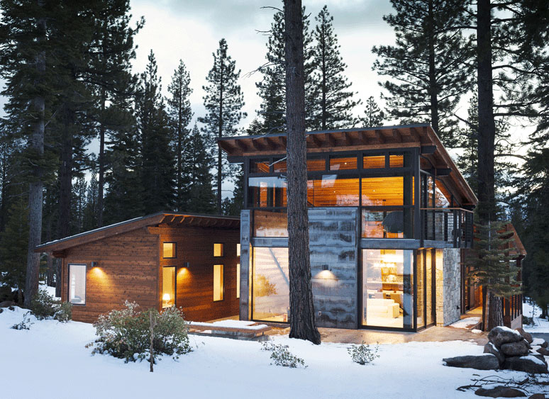 Tiny Home Designs: Marvelous Mountain Home Is A Sagemodern Prefab