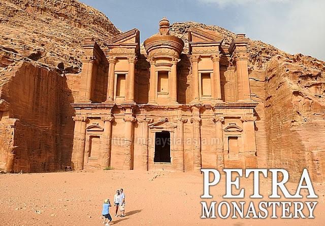 Petra Monastery Photo