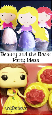 Find lots of great party ideas for your next Beauty and the Beast party.  You'll find great printables, DIY decorations, party games, desserts, and more to make your birthday party a fun event with little time, effort, and money.