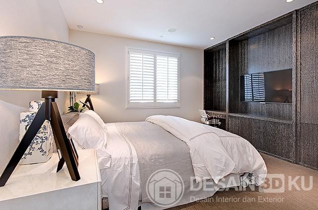 15 Kamar Tidur yang Indah dengan Lampu Meja Tripod