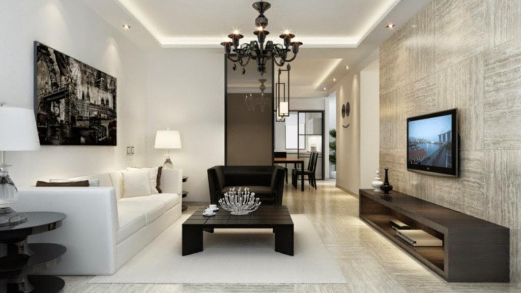 Salones dise o minimalista - Disenador de interiores madrid ...