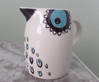 birdlife creamer jug Hannah Turner