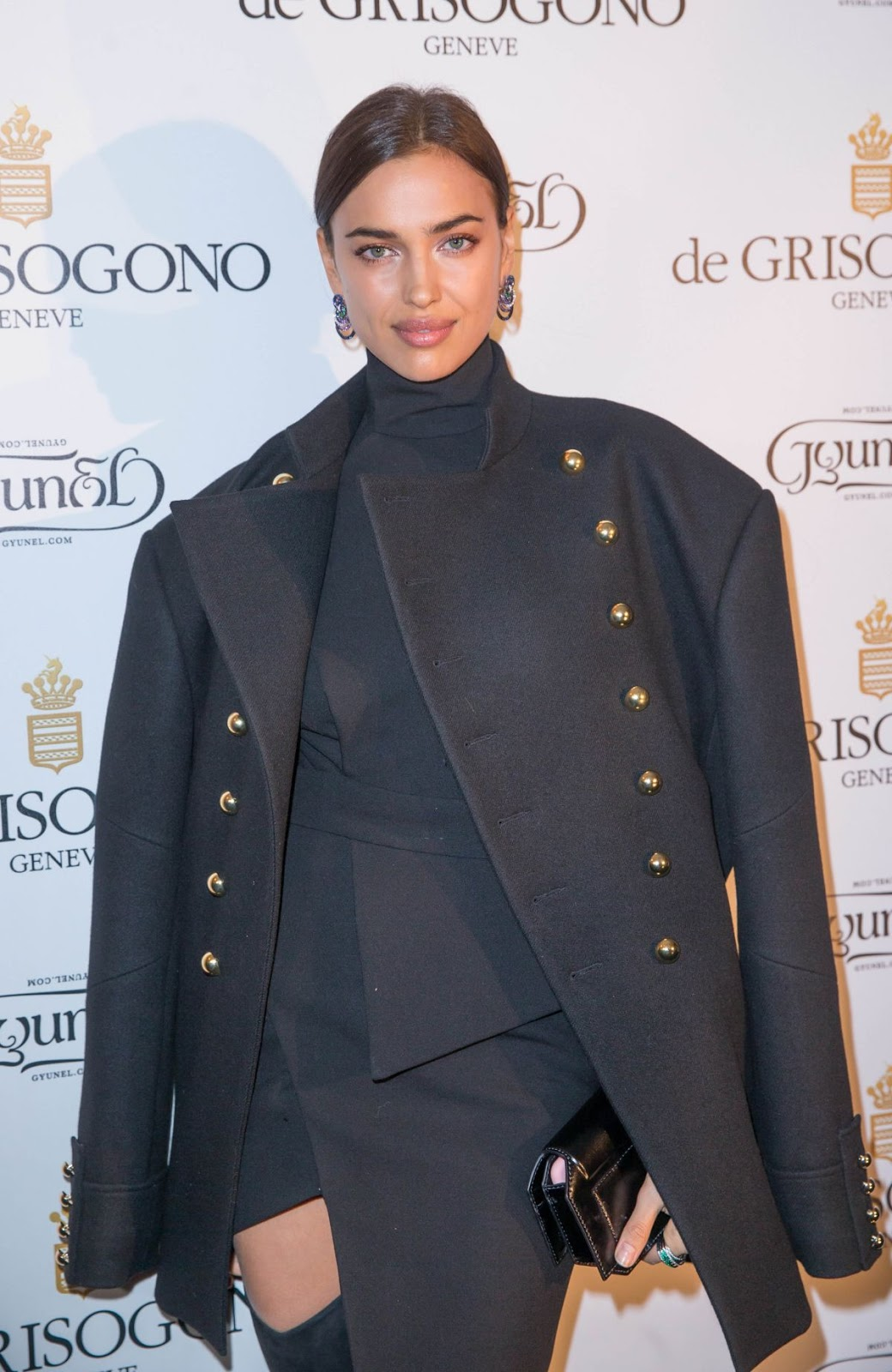 Cristiano Ronaldo Girlfriend Irina Shayk at De Grisogono Photocall at Rue De La Boetie in Paris