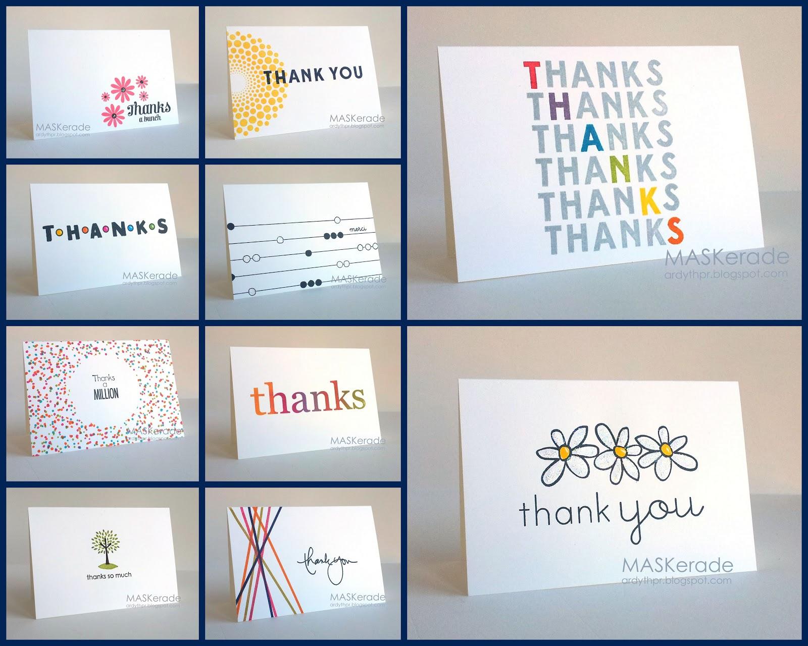 MASKerade: Volunteer Thank You Sets