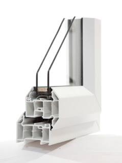 Kusen dan pintu jendela UPVC