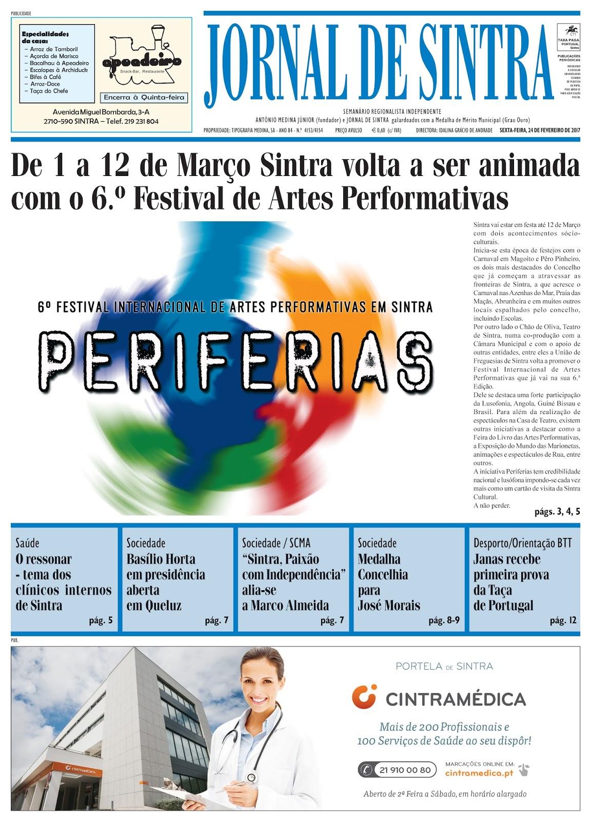 Capa da edição de 24-02-2017