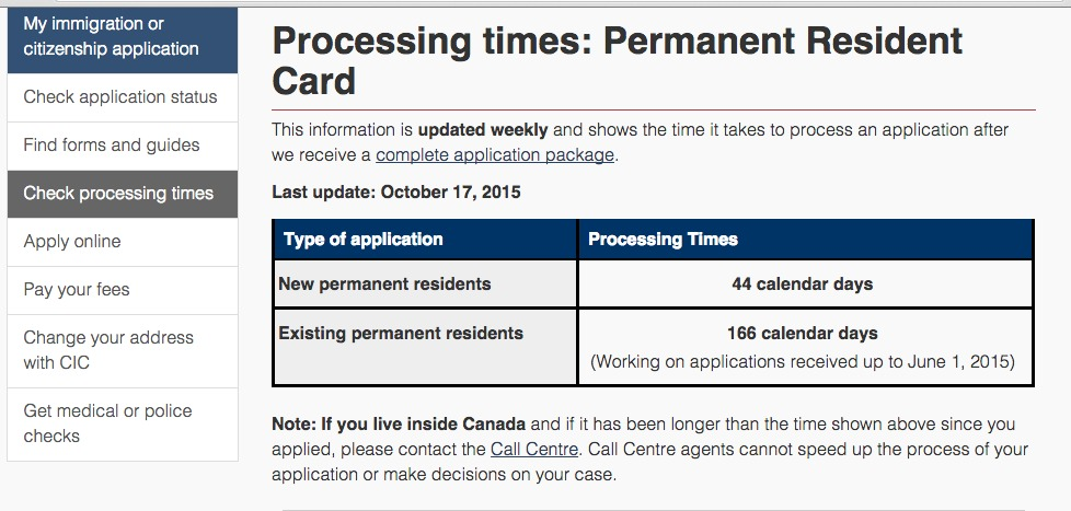 foto de Turistang Barat: How Long Does It Take To Renew Your Canadian PR Card?