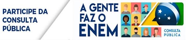 Consulta Pública ENEM