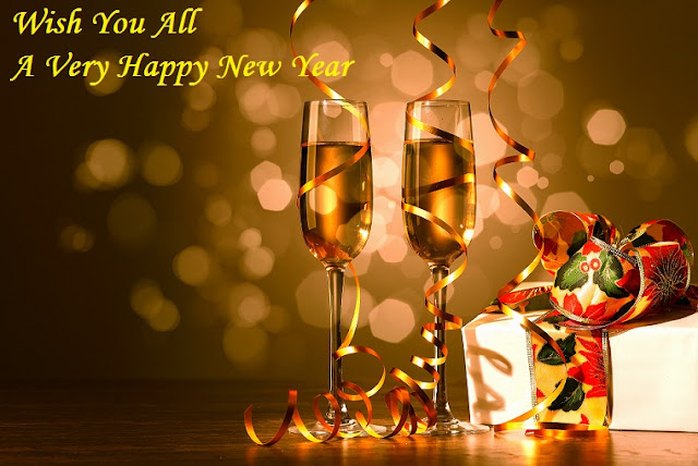 New Year Pics With Champagne For Whatsapp Friends Group