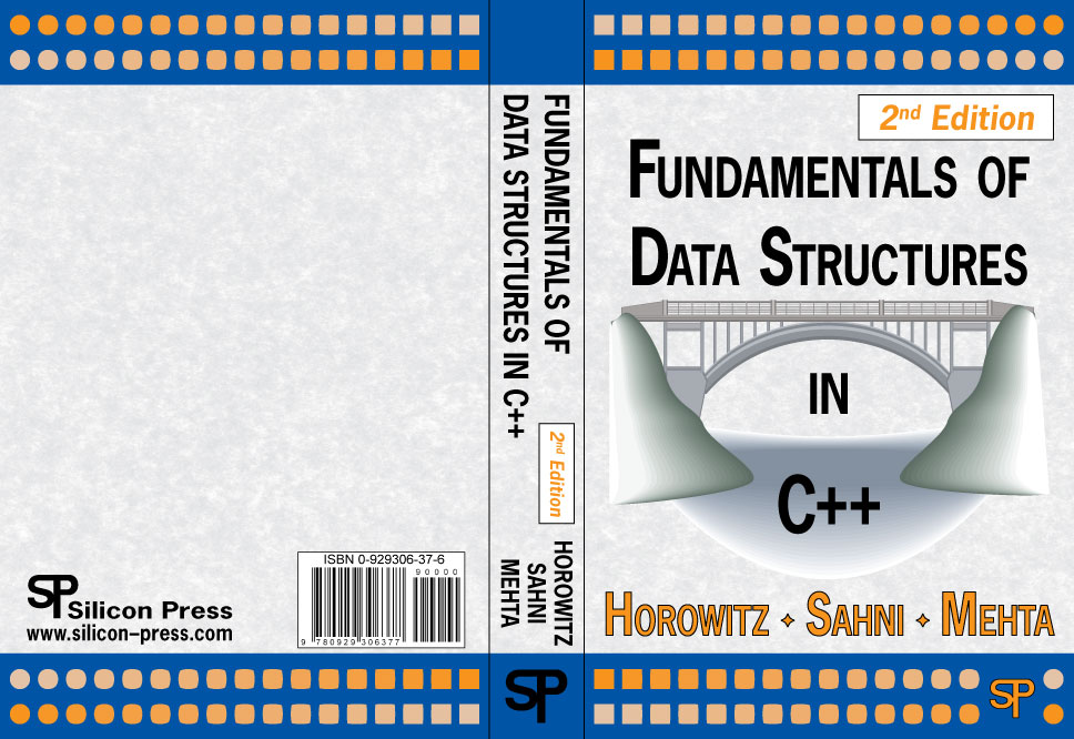 fundamentals of data structures in c++ by horowitz ~ BSIT