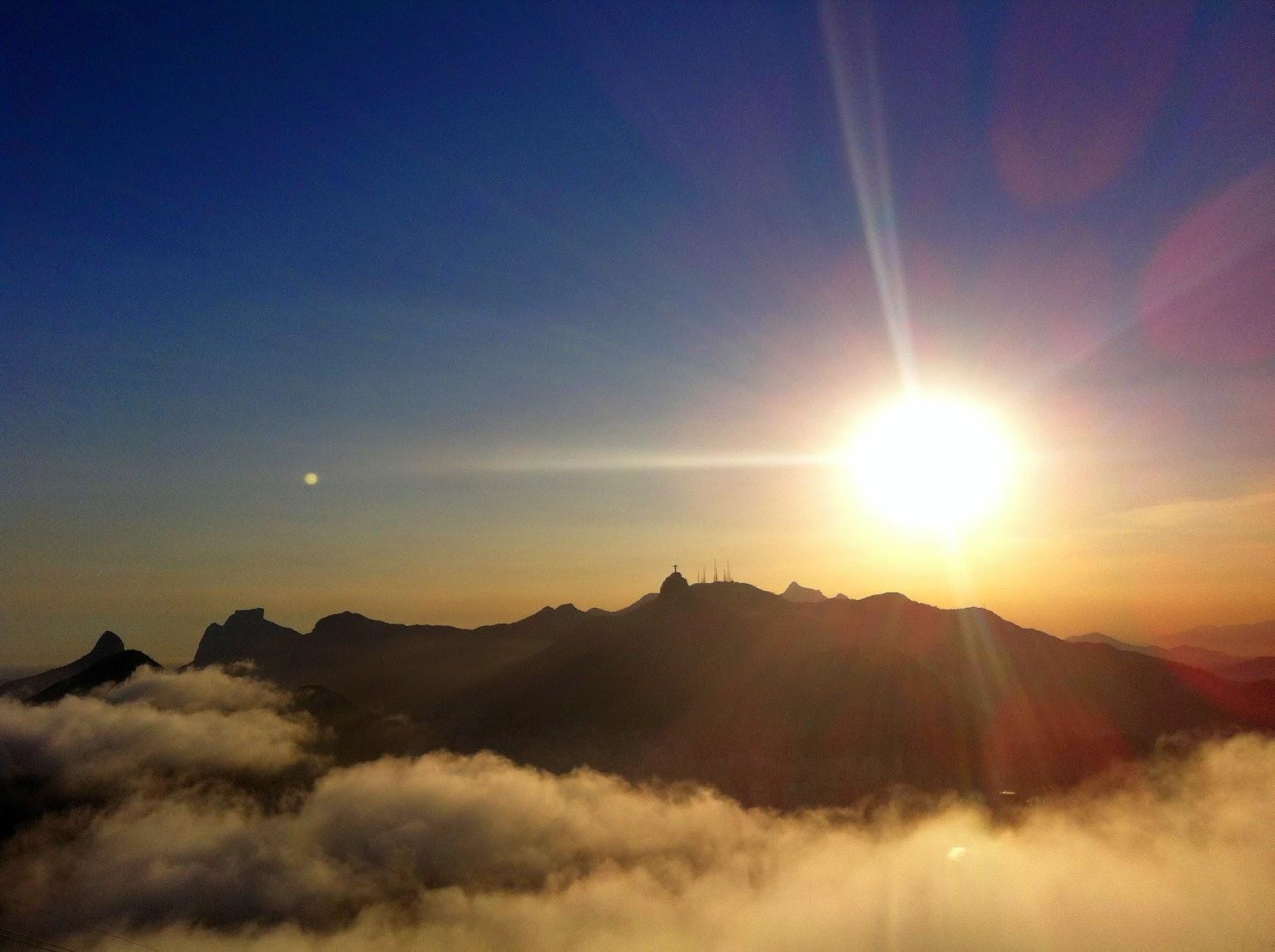 Sunset from Sugarloaf Mountain Rio de Janeiro