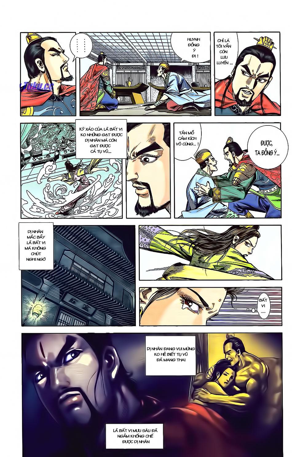 Tần Vương Doanh Chính chapter 3 trang 28