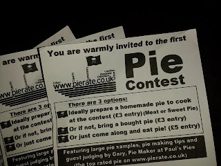 Pie Contest Flyers