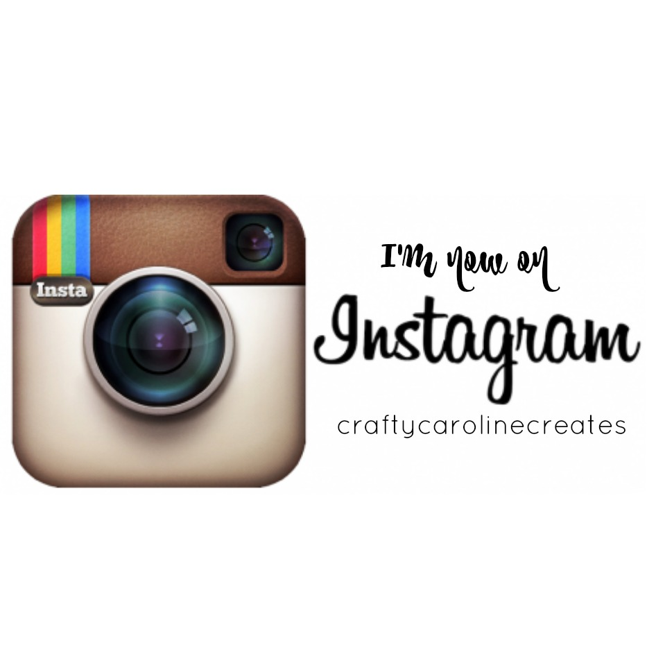 craftycarolinecreates special offers and joining instagram. Black Bedroom Furniture Sets. Home Design Ideas