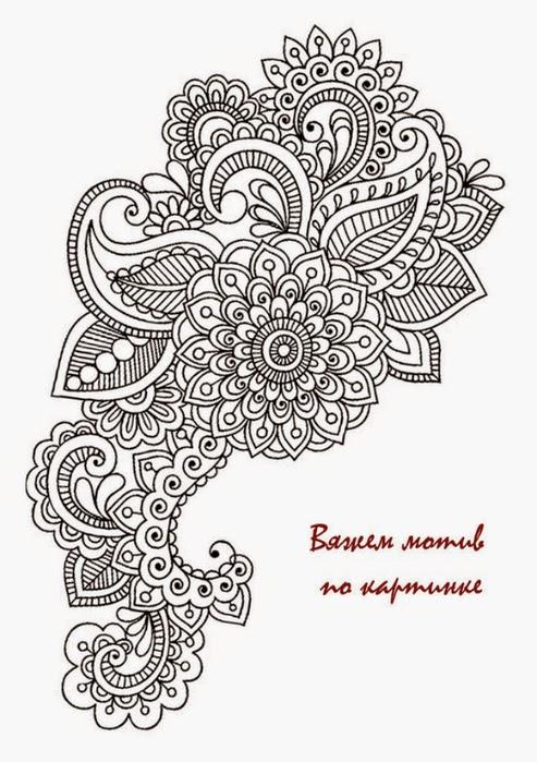 Irina: Fantastic Irish Lace Crochet!