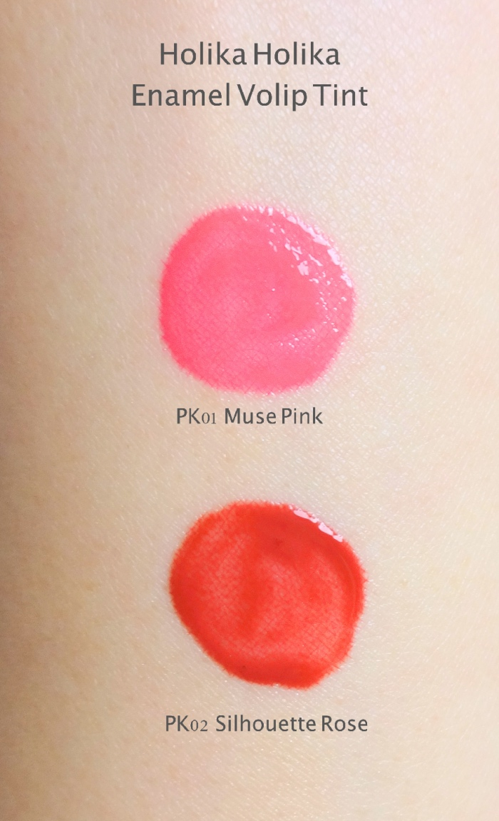 Holika Holika PRO:BEAUTY Enamel Volip Tint swatches