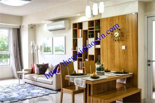 Phòng khách dự án căn hộ The Eastern quận 9
