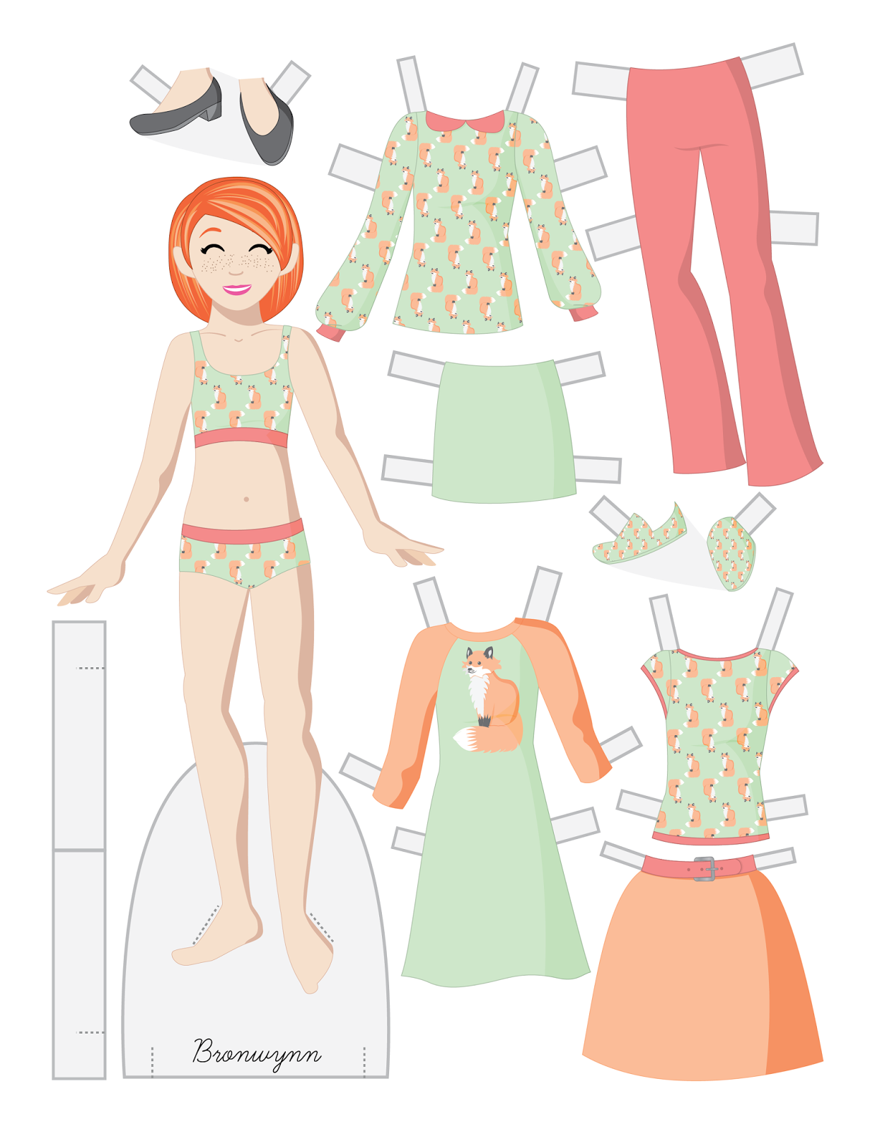 Paper Doll School Tween Fashion Friday Bronwynn