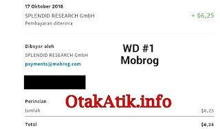 bukti pembayaran terbaru dari  mobrog