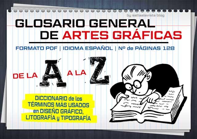 Descargar Diccionario PDF de los Términos Más Usados en Diseño Gráfico, Litografía y Tipografía