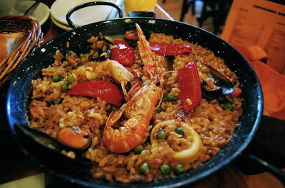 Seafood Paella in a Pot