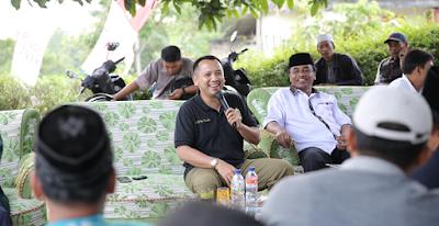 Ridho Serap Aspirasi Masyarakat Margajasa Sragi Lampung Selatan