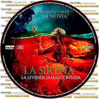 GALLETAThe Mermaid Lake of the Dead - LA SIRENA LA LEYENDA JAMAS CONTADA 2018 [COVER DVD]