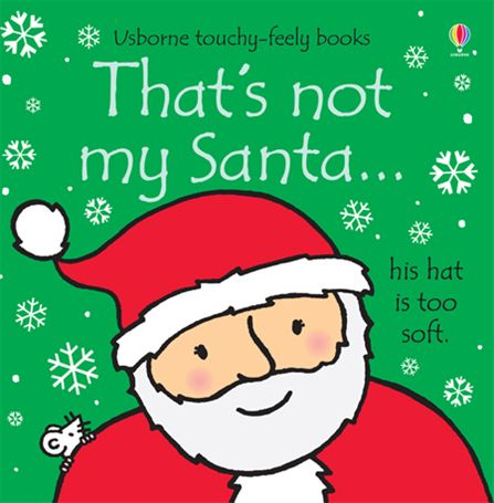 A children's book cover showing Santa Claus