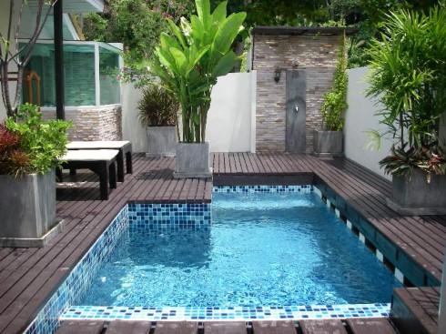 desain kolam renang minimalis dalam rumah