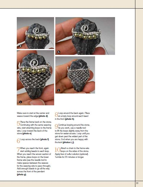 Book Review - Weaving Freeform Wire Jewelry ~ The Beading Gem\'s Journal