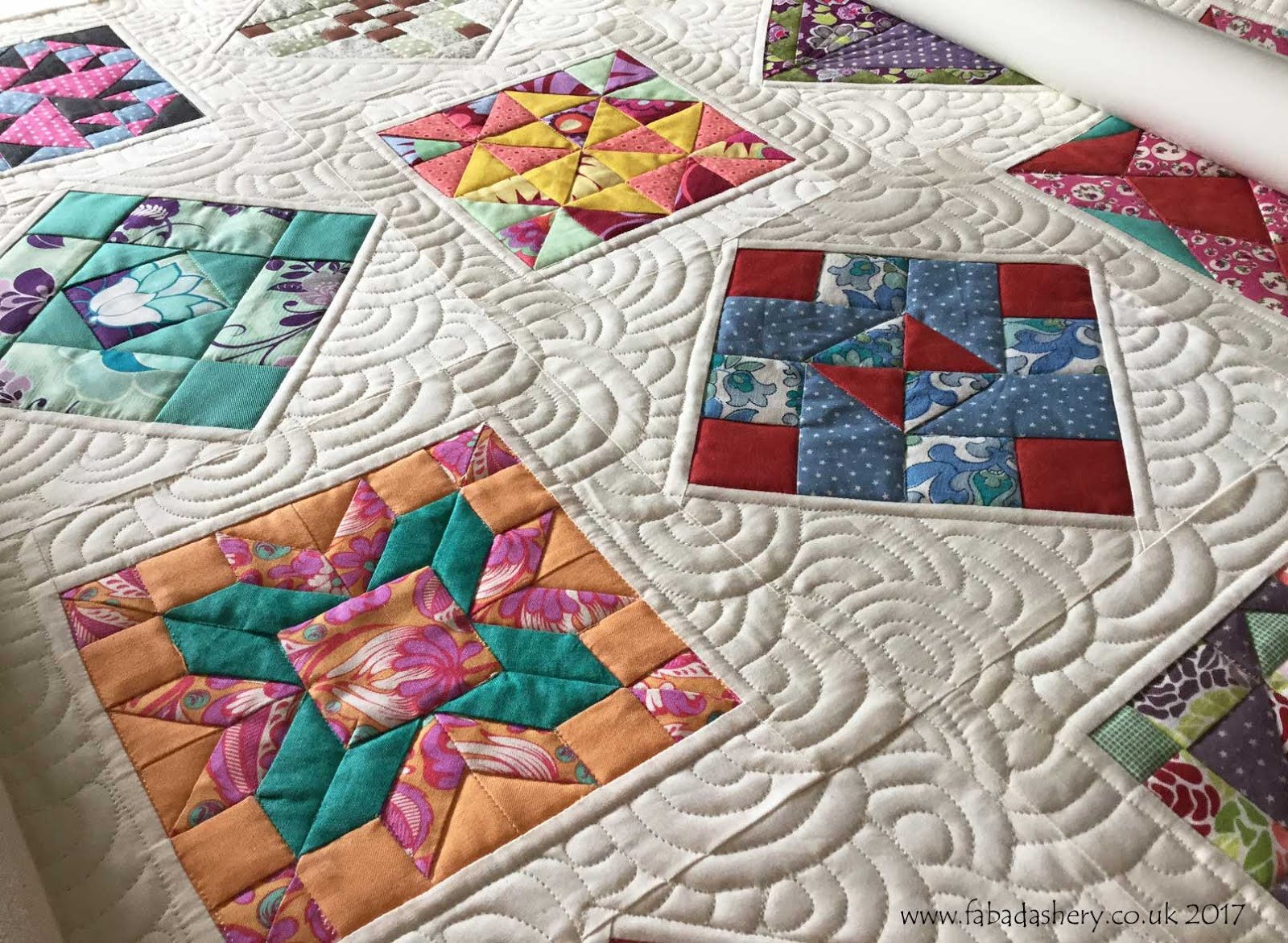Farmer's Wife Quilt Custom Quilting