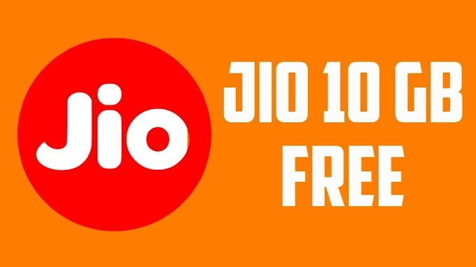 10GB free data for Reliance Jio users | jio sim internet plans